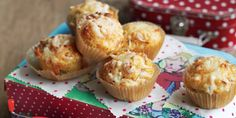 Muffinki z kukurydzą i szynką