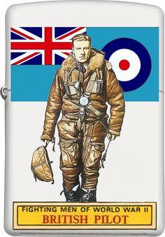 British Pilot Zippo Custom Design