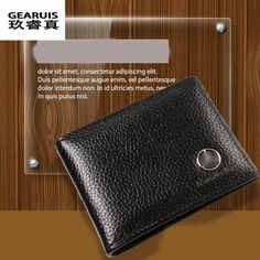 Good Leather License Bag For Mercedes Benz GLA CLA ML GL A B C E class wallet purse notecase Car Logo driver license package