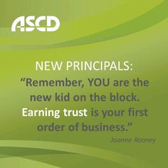 "Joanne Rooney, former codirector of the Midwest Principals' Center and a mentor for principals, shares insights from her article, ""For Principals: Planning the First Year,"" in the Summer 2013 digital-only issue of Educational Leadership."
