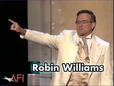 Love this one! Robin Williams Kicks Off the AFI Life Achievement Award For Al Pacino.