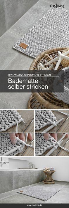 DIY | Badematte selber stricken