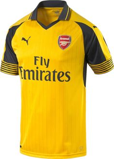 The new Arsenal 2016-2017 Away Jersey introduces a vintage look.