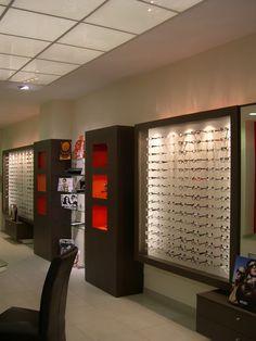aménagement de magasin d'optique