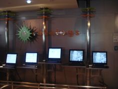 Children's OPACS at varying heights, Childrens Room Cerritos Library CA Cerritos Library, The Expanse, Flat Screen, Room Ideas, Blood Plasma, Flat Screen Display, Plate Display