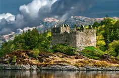 Castle Tioram, Ardnamurchan, Scotland - Photo by Tom Bradley Scotland Castles, Scottish Castles, Places To Travel, Places To See, England Ireland, Ancient Buildings, Castle House, Scotland Travel, Wanderlust
