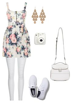 """""""Set 3"""" by faith-brown-2 on Polyvore featuring AG Adriano Goldschmied, Cameo Rose, Irene Neuwirth, Keds and Proenza Schouler"""