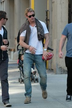 Chris Hemsworth - inspiration for Billy Burner