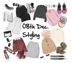 08th Dec. 2015 Styling by mixxmix  #outerwear #white Padded Zip-Up Jacket With Hood #pink Off-Center Zip-Up Jacket #beige Quilt Lined Toggle Front Coat #burgundy Faux Fur Lined Corduroy Jacket  #top #black Solid-Colored Baggy Sweatshirt #charcoal Mock Neck Pullover #ivory Woolen Knit Round Neck Sweater #grey Basic Mock Neck Knit Sweater  #shop http://mixxmix.us  #mixxmix #mxm #hideandseek #has #365basic #girls #women #koreanfashion #twins #daily #outfit #styling #tips #casual #lovely #unique…