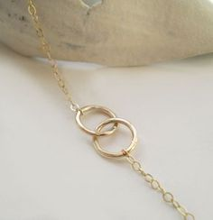 Gold necklace #Jewelry
