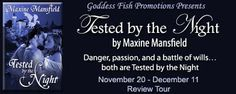Tested by the Night (The Academy #5) by Maxine Mansfield - @GoddessFish, #Erotic, #Fantasy, 3 out of 5 (good)  (December)