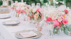 A San Diego Garden Wedding with Pops of Color; a With Flourish Creation Mirror Centerpiece, Candle Wedding Centerpieces, Wedding Table Centerpieces, Floral Centerpieces, Wedding Decorations, Wedding Ideas Uk, Fall Wedding, Diy Wedding, Dream Wedding