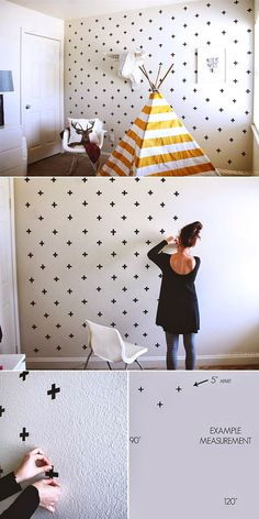 DIY wall decor for nursery and kids rooms.