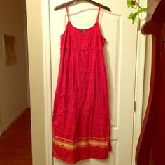 Lane Bryant sundress Very lightweight, full-length sundress. Great for summer! Venezia Dresses Maxi