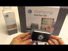 SO EXCITED about this new release from Silhouette, I tried to order it today...to no avail...site says it isn't available yet!  Can't wait to cut STAMPS with my Silhouette!! Product Introduction: Stamping Starter Kit