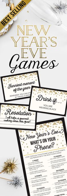 de5acab128cc The Best New Year s Eve Party Games - New Year s Eve Ideas - New Years Eve