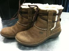 UGG Boots, these kinda look like the boots I bought in Germany, they are warm and comfortable