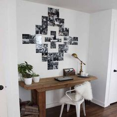 A tutorial on how to make your very own Southwestern photo display! (via The White Buffalo Styling co)