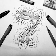 number tattoo fonts, number tattoos, calligraphy letters, caligraphy, t Chicano Lettering, Tattoo Lettering Fonts, Lettering Styles, Lettering Design, Hand Lettering, Number Tattoo Fonts, Number Tattoos, Caligraphy Alphabet, Calligraphy Letters
