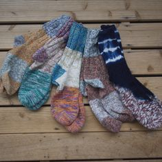 Inspiration - shibori socks...wishing I could knit well enough to make these!