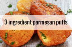 3-Ingredient Parmesan Puffs   The Happy Tulip