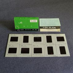 The Cherry Blossoms SK Photo Slide Set of 10 Japan 1970s Boxed Number 41 | eBay