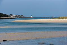 Les tropiques ? non, non, c'est l'estuaire du Guillec en Finistère nord