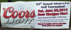 Adopt-a-Pet Four Person Golf Scramble, Sat, Jun 20, 9a. Timber Lakes Golf Course, Staunton, IL