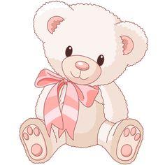 its a girl teddy bear clipart Tatty Teddy, Illustration Mignonne, Bear Illustration, Baby Teddy Bear, Cute Teddy Bears, Bear Cartoon, Cute Cartoon, Scrapbooking Image, Teddy Bear Drawing