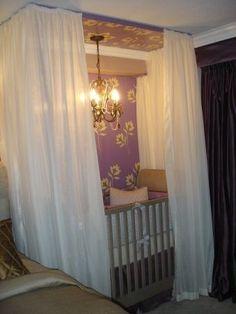baby nook in master bedroom - Google Search