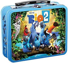 Rio 2 Lunchbox [Only @ Best Buy] (DVD) (Only @ Best Buy), 2296838