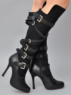 Image detail for -Sexy High Heels - Women& Shoes Photo - Fanpop Fanclubs . - Image detail for -See High Heels – Women& Shoes Photo – Fanpop Fanclubs, # 10 - Sexy High Heels, Womens High Heels, Black Heels, Black Boots, Hot Shoes, Women's Shoes, Me Too Shoes, Punk Shoes, High Heel Boots