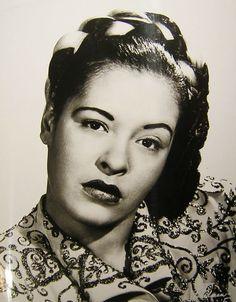Billie Holiday (4/7/1915-7/17/1959)