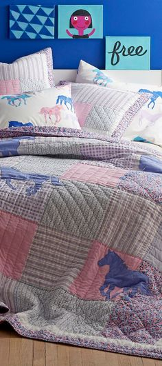 Polka Reverse Bedding Set ~ ALL SIZES ~ Maisie Blush Pink Quilt Cover Floral