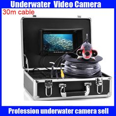 Deep Water Camera Set With 7 Inch Monitor And Carrying Case 3d Printers & Supplies 600tvl, 20 Meter Ca Sale Price