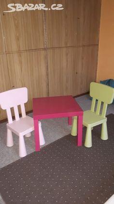 Ikea dětské židle a stůl - Praha - Sbazar.cz