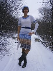 Ravelry: The winter came! pattern by Inna M.    в свободном доступе