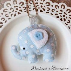 Barbara Handmade...: Błękitny w groszki