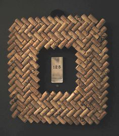 Wine corks - picture frame