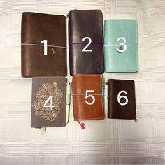 Common Sizes 1. A5 (5.5×8.25)–May books, Moleskine large, Hobonichi Cousin 2. Standard (4.33×8.5)–Midori regular, Moleskine Chapters large 3. Personal size (3.75×6.75)–Le Petit (Foxy Fix), Moleskine Chapters medium (see note) 4. A6 (~4×6)–Hobonichi 5. Pocket (3.5×5.5)–Field Notes, Moleskine Pocket 6. Passport (3.5×5)–Midori passport, Scout books