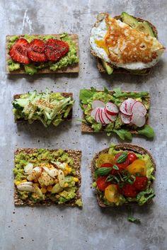 smørbrød med avokado Vegan Recipes Easy, Mexican Food Recipes, Whole Food Recipes, Vegetarian Recipes, Healthy Dinner Options, Quick Meals, Food For Thought, Food Porn, Food And Drink