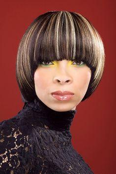 Hair Photography by Keston Duke, NYC  bang!  #NYCBobs #ShortHair #TheCutLIfe #Highlights #HairPhotography #EyeMakeup #KestonDukePhotography #NYCPhotographer