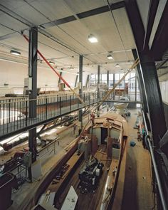 Wooden Boat Centre, Kotka, Finland - Lahdelma & Mahlamäki Architects Open Layout, Wooden Boats, Helsinki, Iceland, Architects, Centre, Restoration, Ships, Building