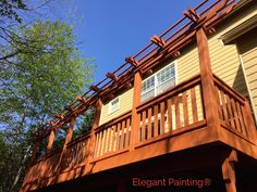 Eastside's own professional house painting contractor offering quality interior & exterior house painting to Redmond, Bellevue, Sammamish, & Woodinville WA. House Paint Exterior, Interior And Exterior, Deck Refinishing, Painting Contractors, House Painting, Multi Story Building, Mansions, House Styles, Home Decor