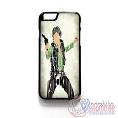 Star Wars Han Solo Quotes iPhone 4/4s/5/5s/5c Case, iPhone 6/6+ Case, iPad Case, Samsung Galaxy case,HTC One Case,Wallet Cases - Venombite Phone Cases