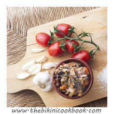 Eggplant dip from the bikini cookbook ITALY
