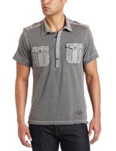 Calvin Klein Jeans Men`s Pigment Jersey Short Sleeve Polo $23.74