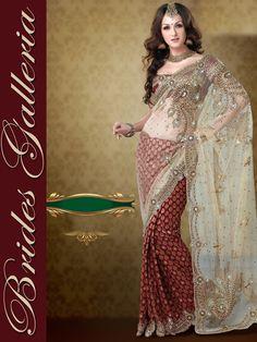 Desi fashion police saree blouse 14
