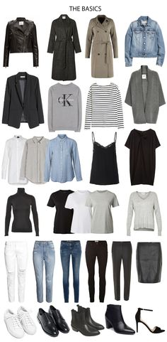 Capsule wardrobe: what, why and how #WardrobeBasics