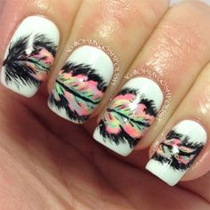 50 Amazing Acrylic Nail Art Designs & Ideas 2013/ 2014   Fabulous Nail Art Designs